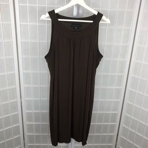 Attention Women's Brown Dress Size XLarge